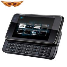 Nokia N900 разблокированный телефон 5MP камера 3,5 дюймов 32 Гб ПЗУ TFT экран WiFi gps с русской Арабской клавиатурой