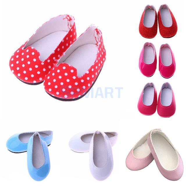 Модные Куклы туфли-лодочки без шнуровки Обувь для 14 дюймов American Girl Wellie кукла Аксессуары