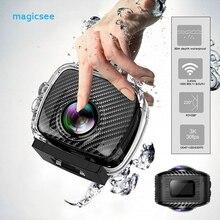 Magicsee P3 360 градусов Спорт действий Камера панорамный Vedio видеокамера двойные линзы Водонепроницаемый 16MP FHD VR Камера S с карты памяти