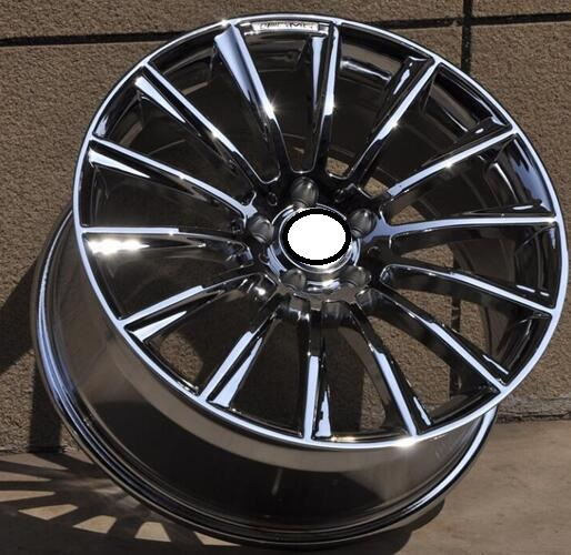 Buy chrome 16 17 18 19 20 inch 5x112 car for Mercedes benz 20 inch wheels