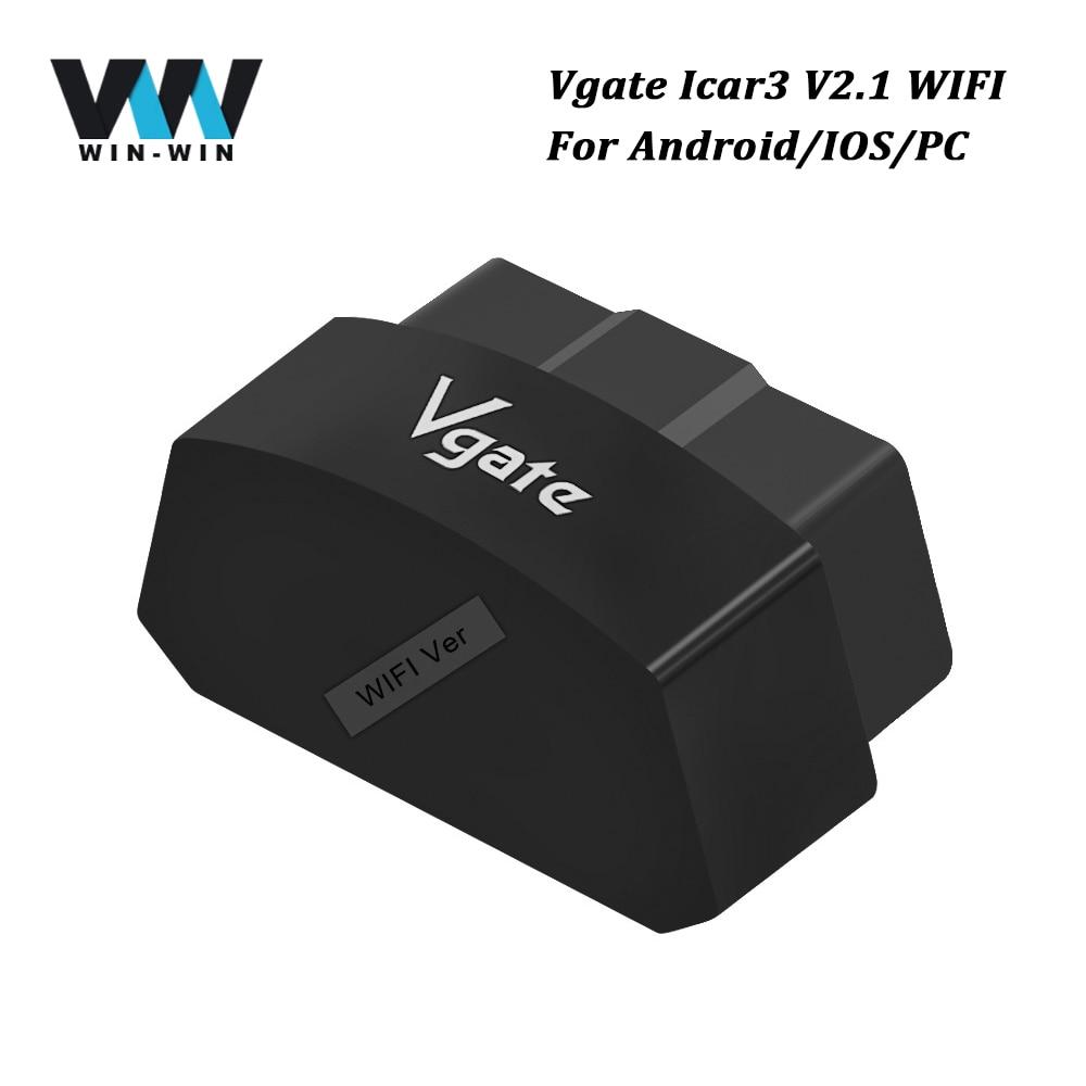 Vgate Icar3 Wifi Elm327 Wifi Obdii Code Reader Support All