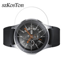 2 stks/partij Gehard Glas Voor Samsung Galaxy Horloge Glas 42mm 46mm 9H 2.5D Screen Protector Voor Samsung galaxy Horloge 46mm Film