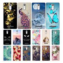 Soft TPU For Leagoo M8 M 8 print cute fashion phone case Pro 5.7 Phone Patterned protect cases shell