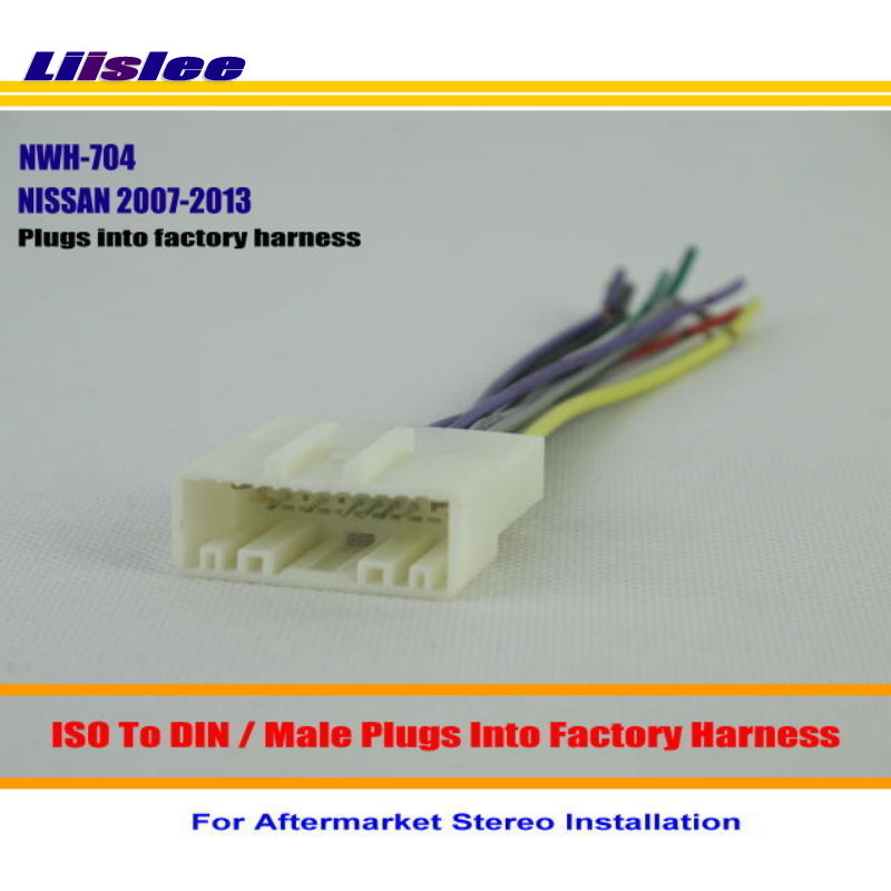 Liislee Car Wiring Harness For NISSAN 370Z Altima Armada Cube Armada Car Stereo Adapter Connector Plugs liislee car wiring harness for nissan 370z altima armada cube Newton-Wellesley Hospital at gsmx.co