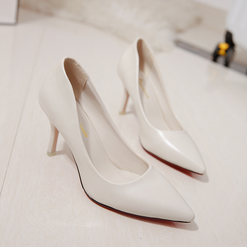 Women 39 s Shoes Pumps High Heels Slip on New Luxury Red Party Dress Wedding Shoes Ladies Elegant Sexy Classic Europe Shine Design in Women 39 s Pumps from Shoes
