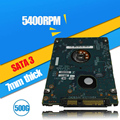 "A++++500GB HDD 5400rpm 2.5"" 7mm HDD  SATA ST500LT012 FreeShipping"