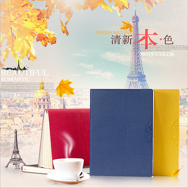 new arrival business planner 2017 notebook high quality paper a5