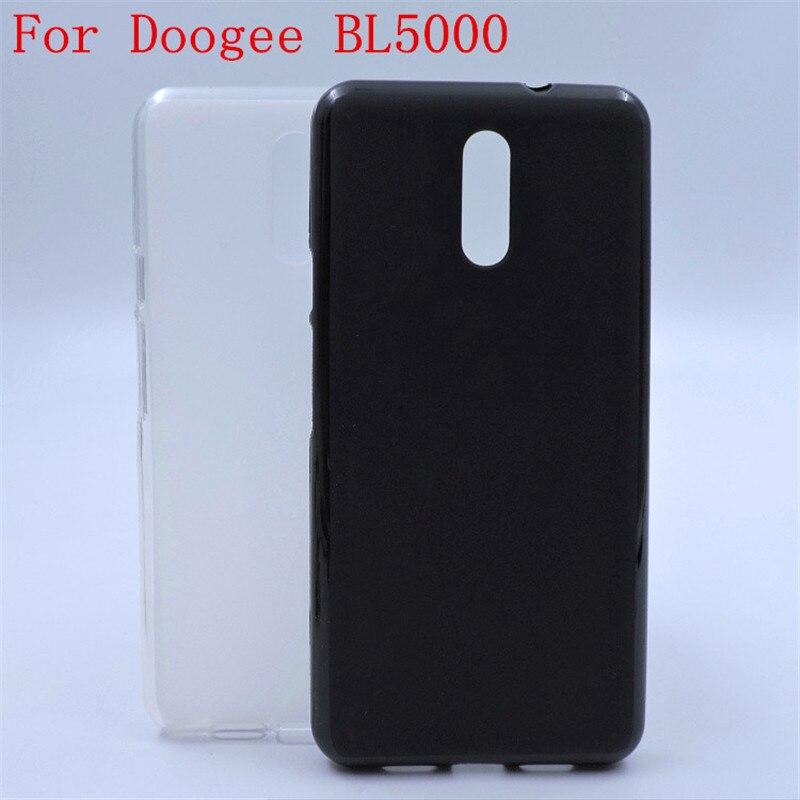 Funda de silicona suave de lujo para teléfono Doogee BL5000 BL 5000 5,5