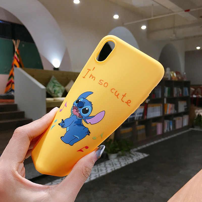 Capa de Silicone Para Samsung Galaxy A50 UM 50 2019 6.4 ''Luxo Urso Do Amor Do Coração Dos Desenhos Animados Macio TPU Tampa Traseira shell Para A30 A20 A10