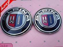 2 stücke Hohe Qualität 82mm oder 73mm ALPINA Logo Auto Front Hood Bonnet Badge + Hinten Emblem mit pins Auto Zubehör cheap shuaizhong CN (Herkunft) For E46 E39 E38 E90 E60 E36 F30 F30 E34 F10 F20 E92 E38 E91 E53 BMW 2014 8 2cm 1 3cm 82cm Embleme