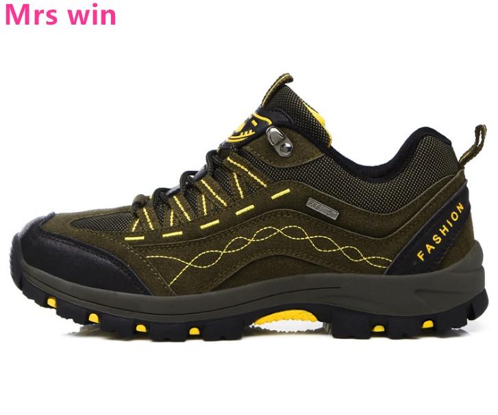 Autumn Winter Men Women Outdoor Hiking Shoes Sneakers Anti skid Wear  resistant Walking Off road Shoes Camping Tactics Shoes-in Hiking Shoes from  Sports ...