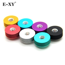 E-XY  Metal Round Colorful 510 Heat Dissipation Heat Sink Mulit Colors For 22mm RDA RBA RTA RDTA Atomizers Vape Mod Box