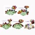 Novo Atacado 12 pçs/lote flores do sol de Pelúcia brinquedos caneta caneta personalizada caneta esferográfica alunos do ensino presente do Dia das Crianças