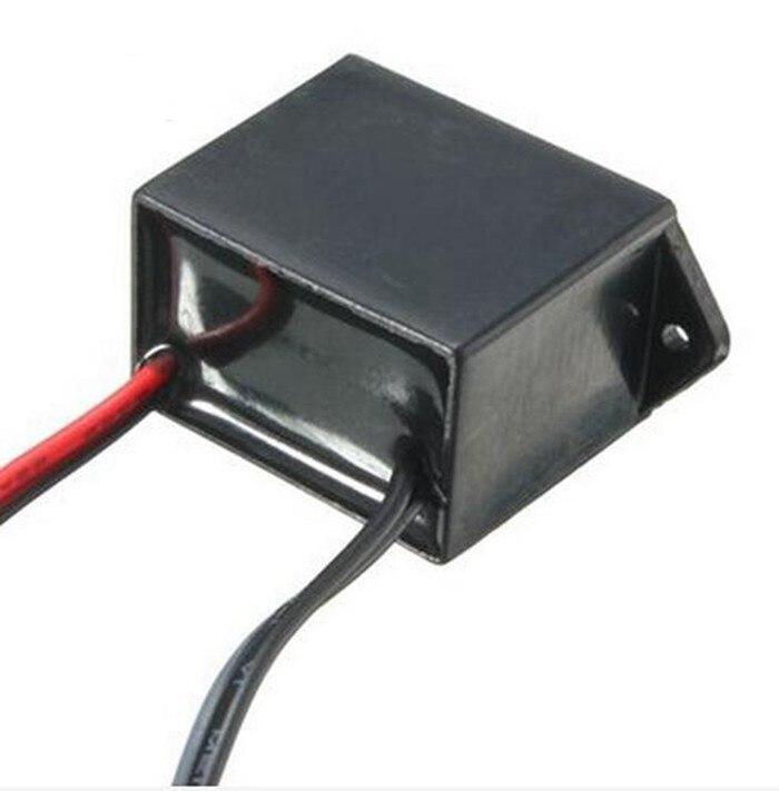 DC12V Car Cigarette Lighter Socket Plug Driver Controller For 1-5M LED EL Wire Glow Flexible Neon Light Decor