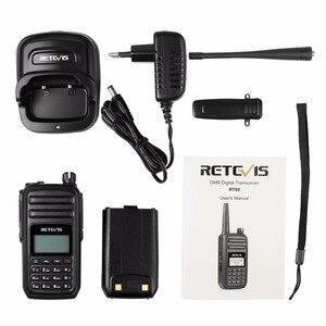Image 5 - RETEVIS RT80 Ham راديو DMR المذياع اللاسلكي الرقمي 5 واط UHF VOX FM راديو المحمولة اتجاهين راديو Amador التناظرية/الرقمية جهاز الإرسال والاستقبال