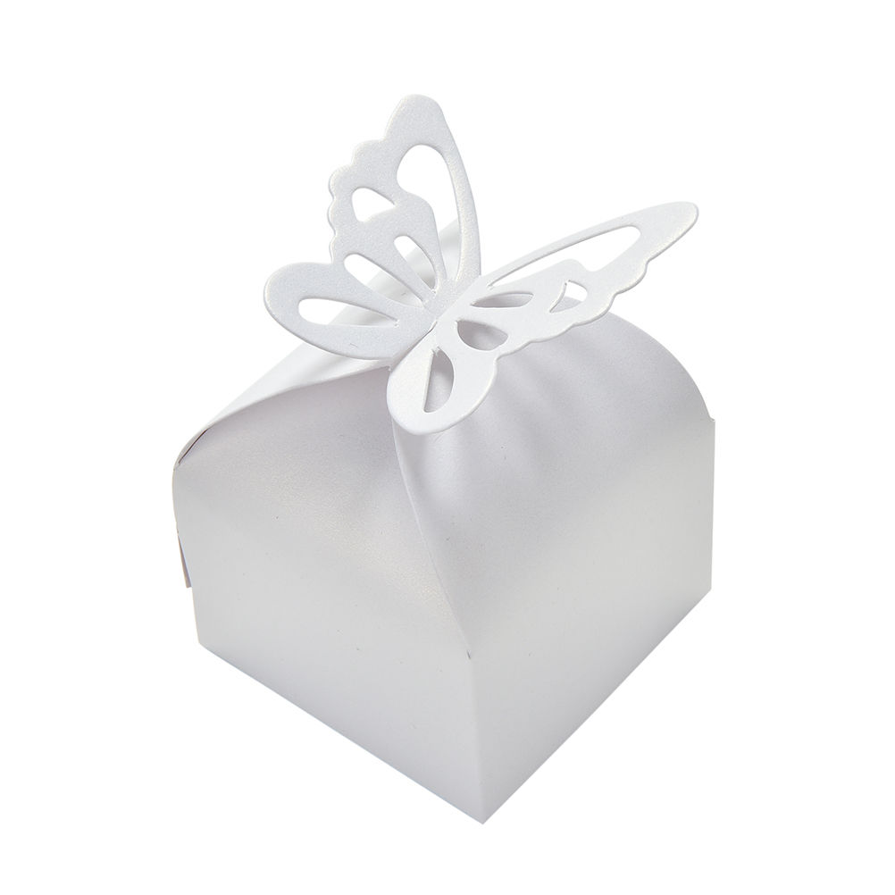 10 Pcs Hot DIY Party wedding Candy Box Butterfly Candy Box Paper ...