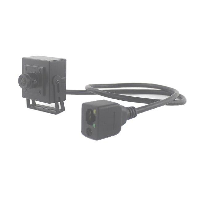 Бесплатная Доставка H.264 Проводной 720 P IP Камеры Крытый Мини-Сети камера 1.0MP HD Onvif P2P motion detect системы безопасности IP камера