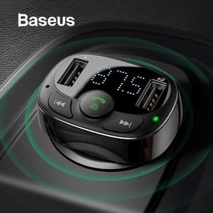 Baseus Dual USB Car Charger wi