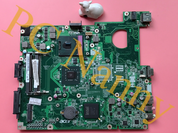 MBEDX06002 DA0ZR6MB6F0 For Acer Extensa 5635 Motherboard Main System Board S478 GM45 DDR3 + Free cpu Fully working
