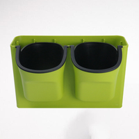 Creative plastic automatic watering potted plant wall flower pots lazy potted spider plant pots