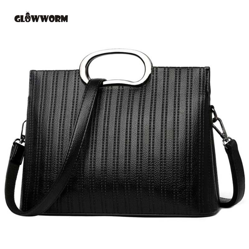 цена Genuine leather Women handbags 2018 New bag ladies classic casual fashion handbag Crossbody Bag female hand bill lading