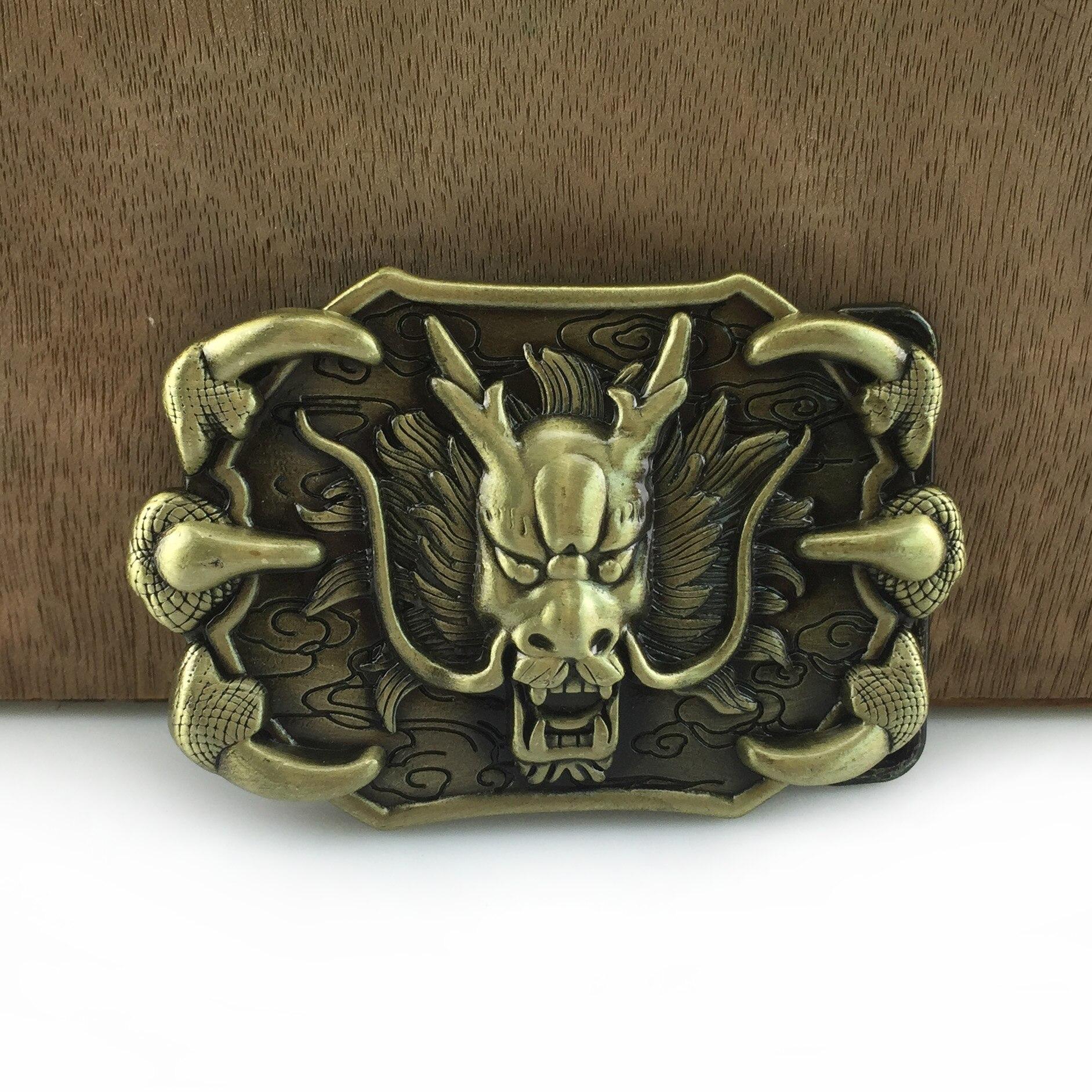 Buckleclub Retro Dragon Belt Buckle Western