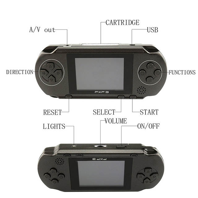 4ad2054f903 Online Shop Portable Retro Color Game player for PXP 3 Handheld 16 Bit Game  Console Video Gamepad Game Controller For Kids Children Gifts
