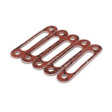 6Pcs Exhaust Engine Plastic Manifold Gasket for 1/10 RC Hobby Model Car HSP