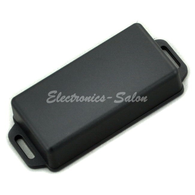 Small Wall-mounting Plastic Enclosure Box Case, Black, 81x41x20mm, HIGH QUALITY.