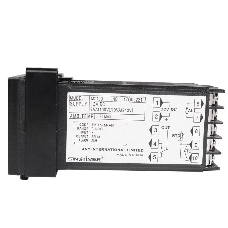 Skaitmeninis PID TEMPERATŪROS VALDIKLIO REGULIATORIUS Termostatas - Matavimo prietaisai - Nuotrauka 6