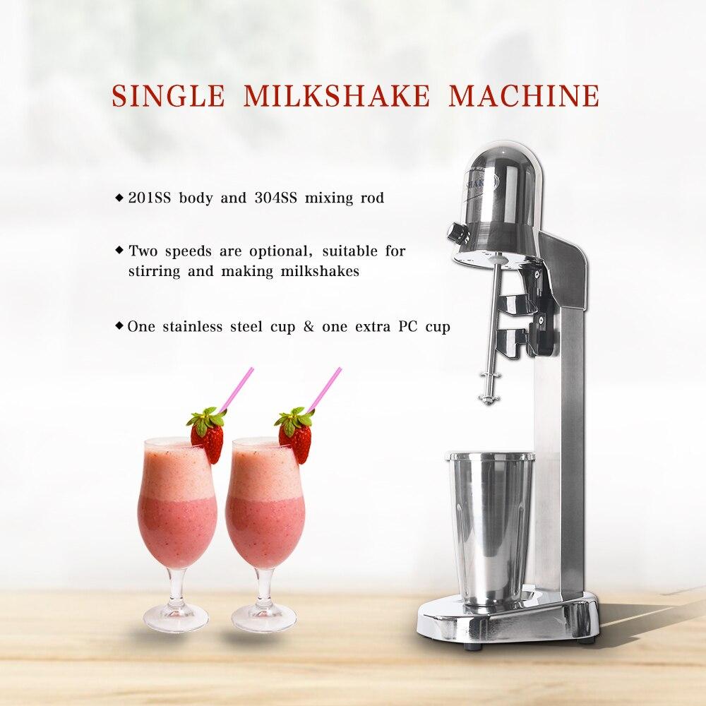 ITOP Commercial milkshake machine tea shop electric stirring tea blender milkshake mixer Electric Kitchen Milkshake Machine
