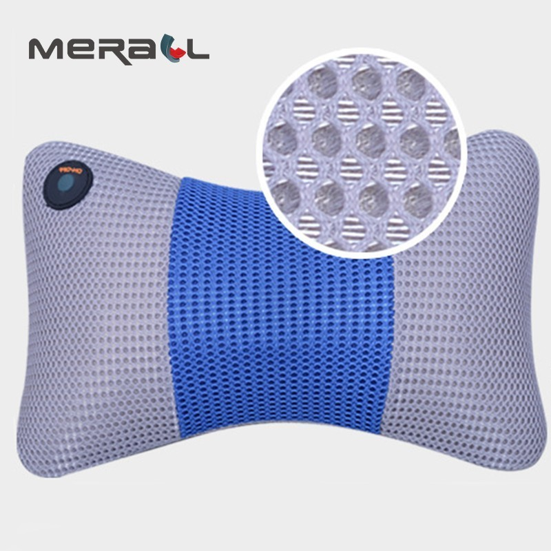 Electric Cervical Massager Neck Waist Shoulder Back Multifunction Body Massage Pillow Cushion Relieve Stress Healthy Relaxing new fitness roller body massager neck waist back shoulder equipment healthy care massager