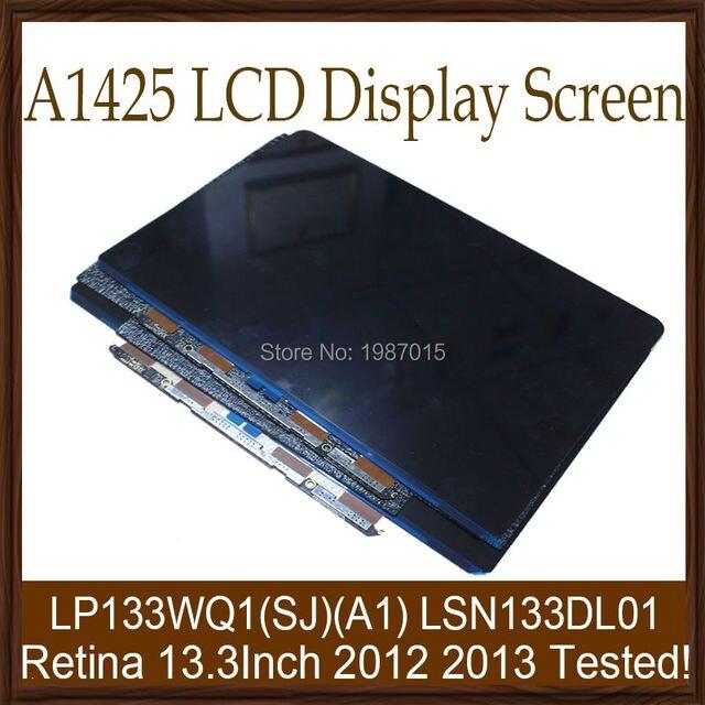 """5 шт./лот Испытания 100% Новый A1425 13 """"ЖК-Экран 2012 2013 Для Apple Macbook Pro Retina 13.3"""" LP133WQ1 (SJ) (A1) LSN133DL01"""