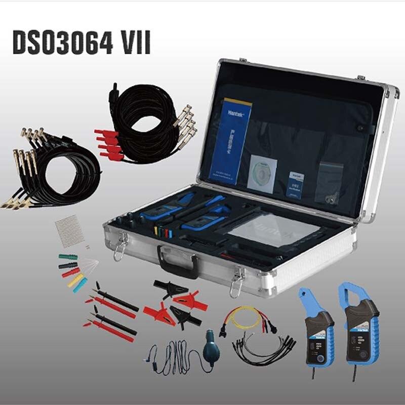 Hantek DSO3064 Kit VII Automobile Voiture De Diagnostic Oscilloscope USB 2.0 4CH 200 ms/s 60 mhz Frenquency Contre LAN en option