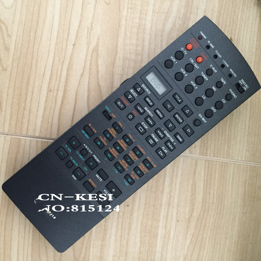 CN-KESI FIT Original advanced AV amplifier Receiver Remote Control For YAMAHA RAV220 DSP-AX1 RX-V1 RX-V1GL V456560 цена