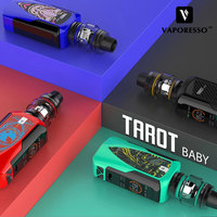 Original Vaporesso Tarot Baby 85W TC E cig Kit 0.002s Firing Speed Vape Kit & 2500Ahm Box Mod & 4.5ml NRG SE Tank GT Meshed Coil