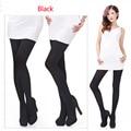 Calças Justas outono inverno Meias de veludo 120d opaque meias stovepipe pressão ultra-elásticas calças meia-calça de alta qualidade