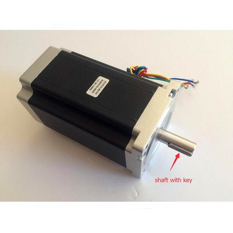 Nema34 Stepper Motor 86HS155 6004A 12N m 6A 155mm Nema 34 stepping motor 1700 Oz in