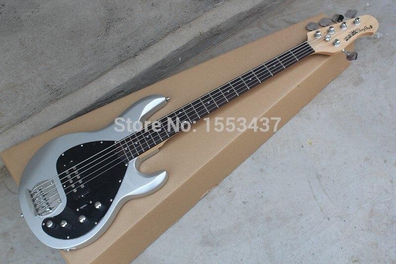 wholesale musicman bass music man stingray 5 electric bass guitar 9 v battery active pickups. Black Bedroom Furniture Sets. Home Design Ideas