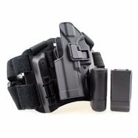 Left Hand Glock holster Tactical Thigh Holster with Magazine Pouch Airsoft Pistol Holster for Glock 17 19 22 23 31