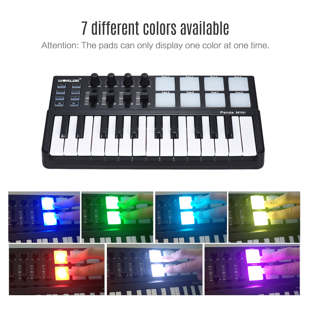 Portable MIDI Keyboard 20