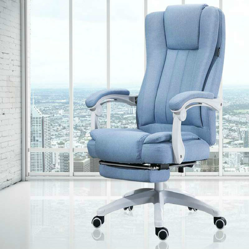 Computer Chair Massage Function Office Chair Home Fabric Leisure Boss Chair Swivel Lift Chairs Recliner Silla Oficina