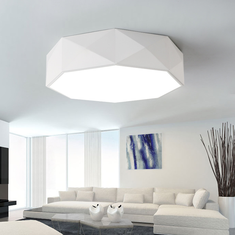 Nordic Modern Creative Geometry Ceiling Lights Cob Led