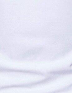 Image 5 - אוקספורד כותנה חולצה גברים 2018 אביב מקרית Slim Fit צווארון עומד חולצות גברים ארוך שרוול מוצק תחתונית Homme צבא ירוק