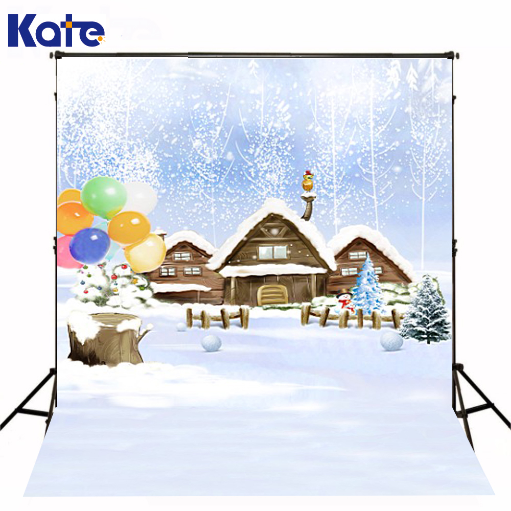 200Cm*150Cm Mini Baby Child Photography Snow Balloon Tree House Background One Hundred Days Baby Photos Lk 3985 600cm 300cm mini baby child photography stars animal toys background one hundred days baby photos lk 3975
