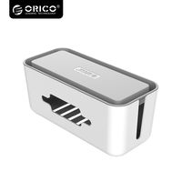 ORICO Multi Devices Cable Winder Storage Box For Power Socket Manager Box With Phone Holder Power