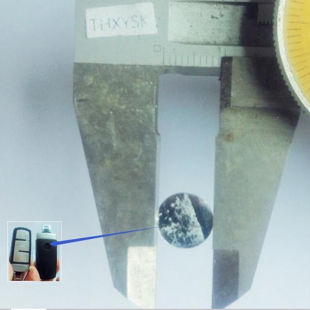 10PCS/lot Replacement For  VOLKSWAGEN VW Car emblem insignia 9.5mm Silica gel sticker For VW KEY LOGO