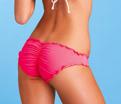 Bikini bathing suit bottoms