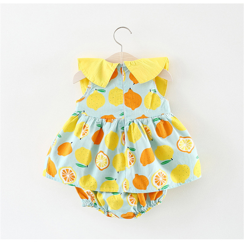 Lawadka Baby Baby Girls Clothing Sets 2018 New Brand Two Piece Sets Short Pants +Floral Dress Summer Style