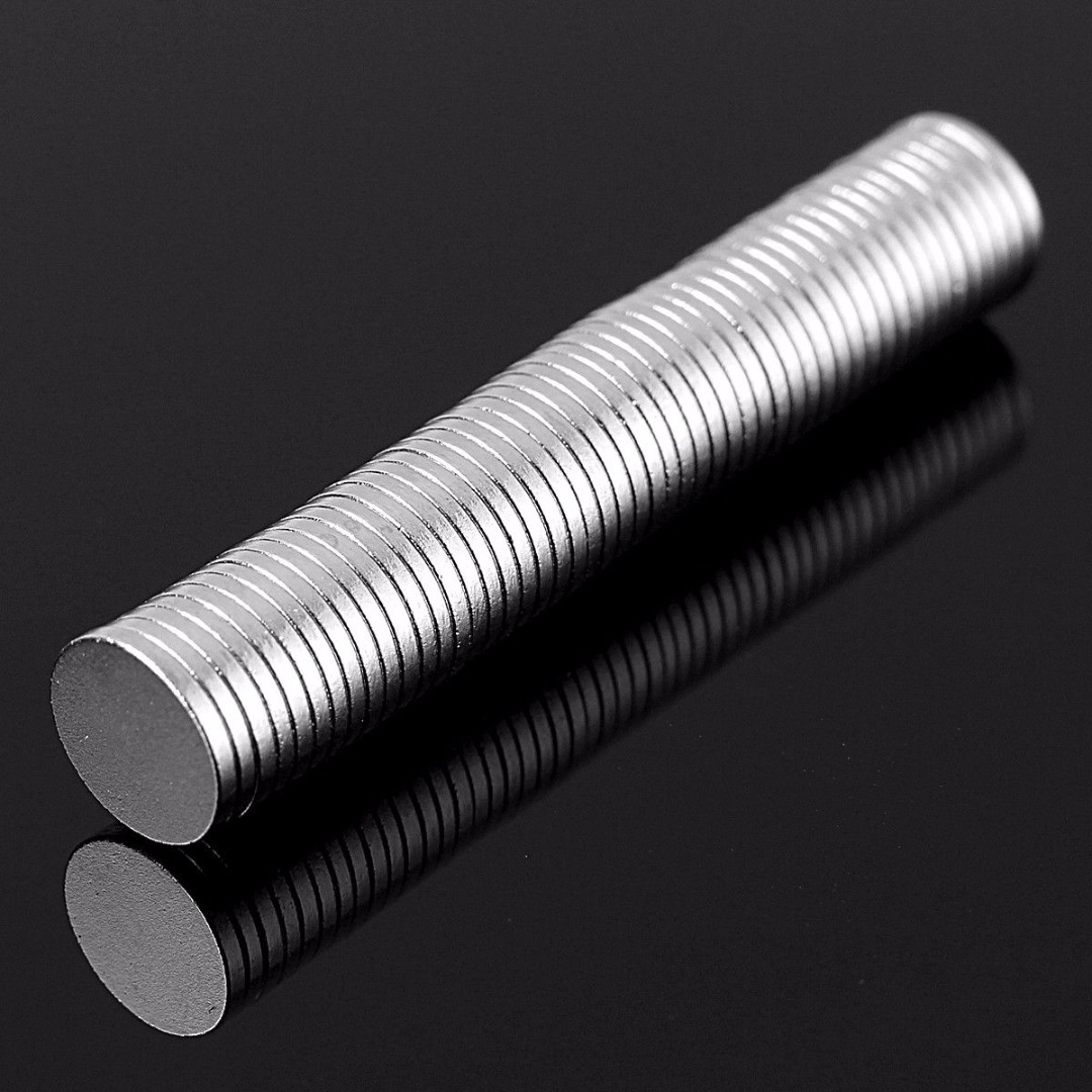 50pcs Powerful N52 Round Thin Neodymium Magnet Small Disc Strong Rare Earth Magnets 8mm*1mm For Machinery Electronics Mayitr 70 50 bigest strong magnets 70mm x 50mm disc powerful magnet craft neodymium rare earth permanent strong n50 n52 70 50 70x50